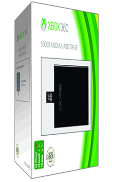 Xbox 360 500GB Media Hard Drive Accessories