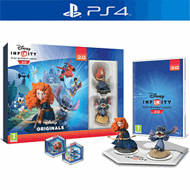 Disney Infinity 2.0: Toy Box Combo Pack PlayStation 4 Cover Art