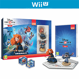 Disney Infinity 2.0: Toy Box Combo Pack Wii U Cover Art