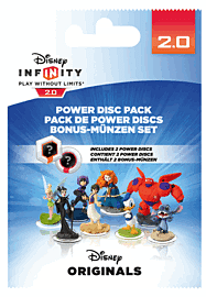 Disney Infinity 2.0: Disney Originals Power Disc Pack Toys and Gadgets