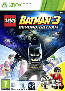 LEGO Batman 3: Beyond Gotham with Plastic Man LEGO Minifigure - Only at GAME Xbox 360