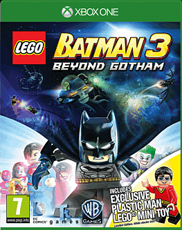 LEGO Batman 3: Beyond Gotham with Plastic Man LEGO Minifigure - Only at GAME Xbox One