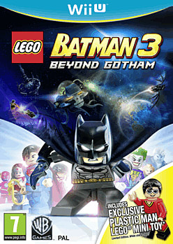 LEGO Batman 3: Beyond Gotham with Plastic Man LEGO Minifigure - Only at GAME Wii U