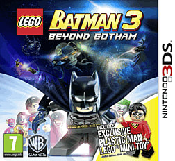LEGO Batman 3: Beyond Gotham with Plastic Man LEGO Minifigure - Only at GAME 3DS