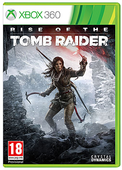 Rise of the Tomb Raider Xbox 360 Cover Art