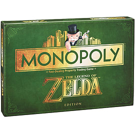Zelda Monopoly Toys and Gadgets