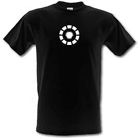 Arc Reactor Iron Man male t-shirt. BlaSmal Clothing