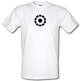 Arc Reactor Iron Man male t-shirt. WhiLarg Clothing