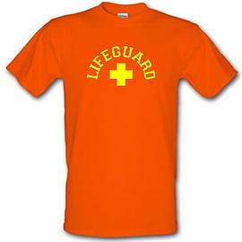 Lifeguard male t-shirt. OraLarg Clothing