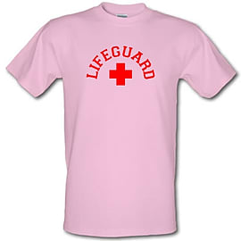 Lifeguard male t-shirt. PinLarg Clothing
