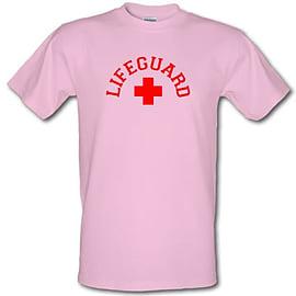 Lifeguard male t-shirt. PinXXLa Clothing