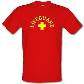 Lifeguard male t-shirt. RedSmal Clothing