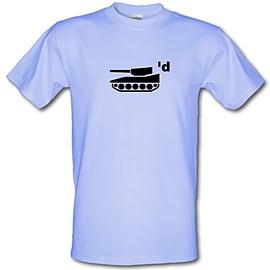 Tank'd male t-shirt. LigSmal Clothing