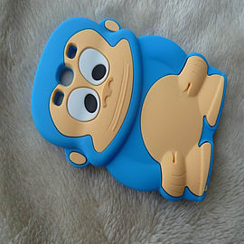 DIA® BLUE TURQUOISE AQUA MONKEY SILICONE CASE COVER FITS SAMSUNG GALAXY S3 i9300 S III Mobile phones