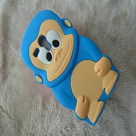 DIA® BLUE TURQUOISE AQUA MONKEY SILICONE CASE COVER FITS SAMSUNG GALAXY S3 MINI i8190 S III Mobile phones