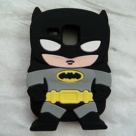 DIA Black Batman Silicone case cover for Galaxy S3 Mini i8190 Mobile phones