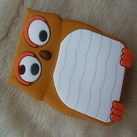 DIA Brown Owl silicone case Cover for Blackberry Curve 8520 8530 9300 Mobile phones