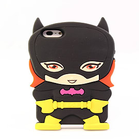 SUPERHEROS BATGIRL SILICONE CASE COVER FOR IPHONE 5 5S Mobile phones
