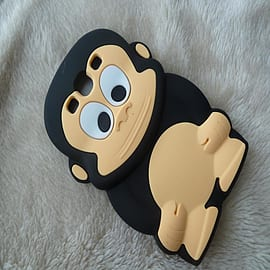 DIA® BLACK MONKEY SILICONE CASE COVER FITS SAMSUNG GALAXY S3 i9300 S III Mobile phones
