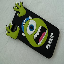 DIA BLACK MONSTERS INC MIKE SILICONE CASE COVER FOR IPHONE 4 4G 4S Mobile phones