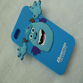 DIA BLUE MONSTERS INC SULLEY SILICONE CASE COVER FOR IPHONE 5 5G 5S Mobile phones