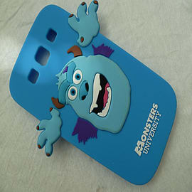 DIA BLUE SULLEY MONSTERS INC SILICONE CASE COVER FOR SAMSUNG GALAXY S3 I9300 Mobile phones