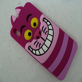 DIA DISNEY CHESHIRE CAT FACE SILICONE CASE COVER TO FIT HTC DESIRE 816 Mobile phones