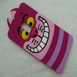 DIA CHESHIRE CAT FACE SILICONE CASE COVER FOR LG G2 Mobile phones