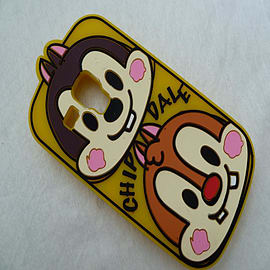 DIA CARTOON CHIP N DALE SILICONE PHONE CASE COVER FOR SAMSUNG GALAXY S3 MINI I8190 Mobile phones