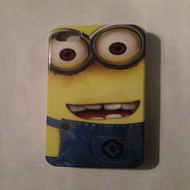 DIA® Despicable Me Minions Hard case to fit iPhone 4 4g 4s Design 2 Mobile phones