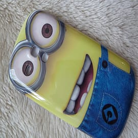 DIA® Despicable Me Minions Hard case to fit Samsung Galaxy S3 Mini i8190 Design 2 Mobile phones