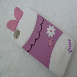 DIA DAISY DUCK SILICONE CASE COVER FOR APPLE IPHONE 4 4G 4S Mobile phones