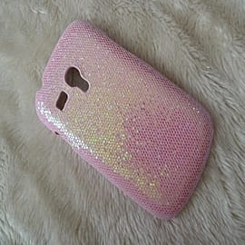 For Samsung Galaxy SIII S3 Mini i8190 Glitter Bling Sparkle Sparkling Shing Mobile Phone S 3 S111 Ca Mobile phones