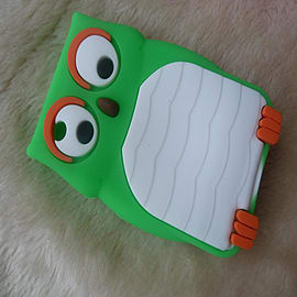DIA Green Owl silicone case Cover for Blackberry Curve 8520 8530 9300 Mobile phones