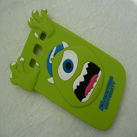 DIA GREEN MIKE MONSTERS INC SILICONE CASE COVER FOR SAMSUNG GALAXY S3 I9300 Mobile phones