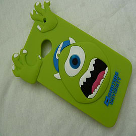 DIA GREEN MIKE MONSTERS INC SILICONE CASE COVER FOR HTC ONE M7 Mobile phones