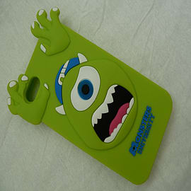 DIA GREEN MONSTERS INC MIKE SILICONE CASE COVER FOR IPHONE 4 4G 4S Mobile phones