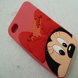 DIA HEADS UP MINNIE MOUSE SILICONE CASE COVER FOR IPHONE 5 5G 5S Mobile phones