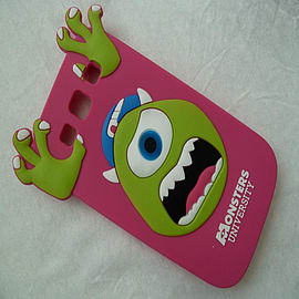 DIA HOT PINK MIKE MONSTERS INC SILICONE CASE COVER FOR SAMSUNG GALAXY S3 I9300 Mobile phones