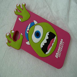 DIA HOT PINK MONSTERS INC MIKE SILICONE CASE COVER FOR IPHONE 5 5G 5S Mobile phones