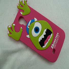 DIA HOT PINK MIKE MONSTERS INC SILICONE CASE COVER FOR SAMSUNG GALAXY S4 I9500 Mobile phones