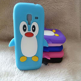 DIA® Light Blue Turquoise Aqua Silicone Penguin case cover for Samsung Galaxy Ace 2 i8160 Mobile phones