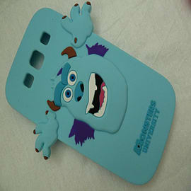 DIA LIGHT BLUE SULLEY MONSTERS INC SILICONE CASE COVER FOR SAMSUNG GALAXY S3 I9300 Mobile phones