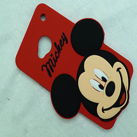 DIA DISNEY MICKEY MOUSE BIG FACE SERIES 3 SILICONE CASE COVER FOR HTC ONE M7 Mobile phones