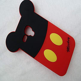 DIA MICKEY MOUSE SILICONE CASE COVER FOR SAMSUNG GALAXY S3 MINI I8190 Mobile phones