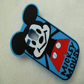 DIA CARTOON MICKEY MOUSE SILICONE PHONE CASE COVER FOR SAMSUNG GALAXY S3 MINI I8190 Mobile phones