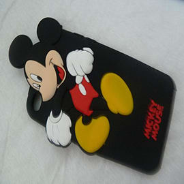 DISNEY MICKEY MOUSE SOFT SILICONE CASE FOR IPOD TOUCH 4 4G 4TH GEN Audio