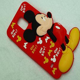 DIA DISNEY MICKEY MOUSE STANDING SERIES 4 SILICONE CASE COVER FOR SAMSUNG GALAXY S5 G900H Mobile phones
