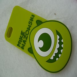 DIA MIKE MONSTERS INC SERIES 3 BIG FACE SILICONE CASE COVER FOR IPHONE 4 4G 4S Mobile phones