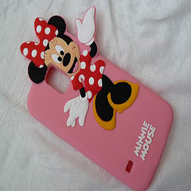 DIA MINNIE MOUSE SILICONE CASE COVER FOR SAMSUNG GALAXY S5 G900H Mobile phones